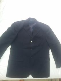 Terno Azul Marinho Tam G +3 Gravatas +1cinto (novíssimo)
