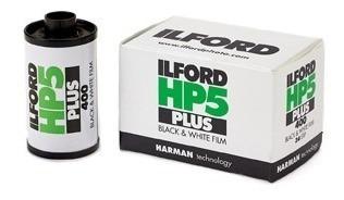Filme 35mm Ilford Hp5 Plus Iso 400 Preto E Branco 36 Poses