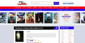 Template Wordpress Para Sites De Download Torrent Responsivo