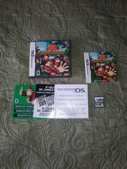 Donkey Kong Jungle Climber Original Nintendo Ds