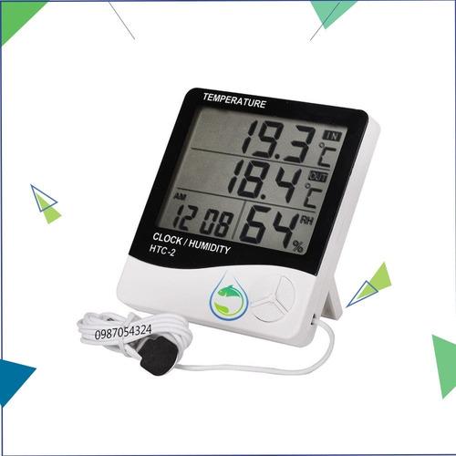 Termohigrometro Digital Htc-2 Sonda Temperatura Y Humedad