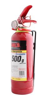 Extintor De Emergencia 500 G Abc Mikels