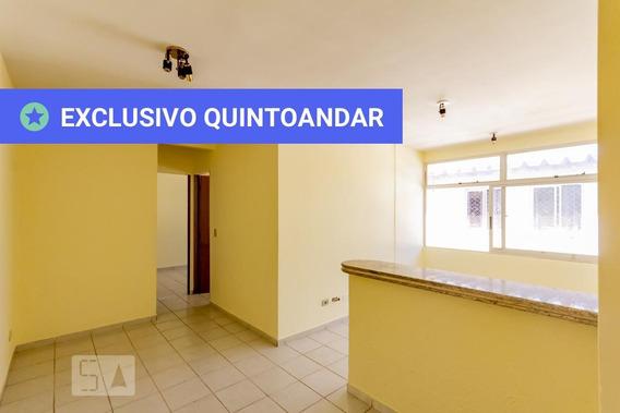 Apartamento No 4º Andar Com 2 Dormitórios E 1 Garagem - Id: 892947682 - 247682