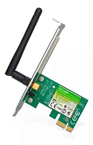 Placa De Red Wifi Pci-e Tp Link Tl-wn781nd 150mb Wireless