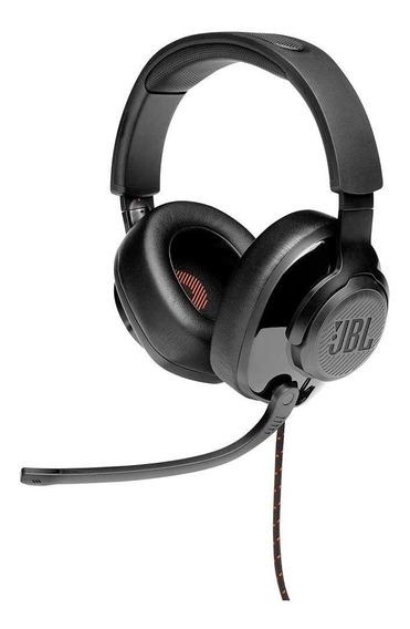 Headset Jbl Gamer Quantum 200 Drivers 50mm - Preto Lacrado