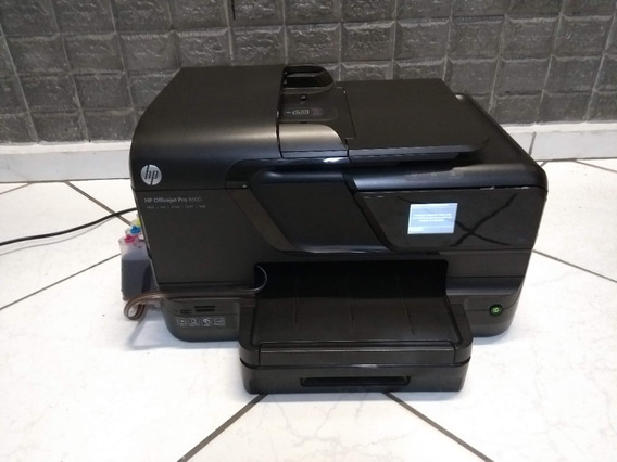 Impressora Hp Officejet Pro 8600 C/ Builk Retirada De Peças