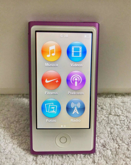 iPod Nano 7th 16gb Lilás