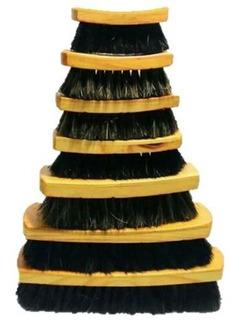 Cepillo Bolero #6 Lustrado De Calzado Cerdas 100% Naturales