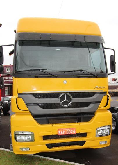 Mercedes-benz Axor 2041 Caminhão Com Pneus Novos (bap 3374)