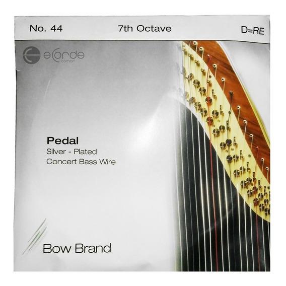 Corda Ré Harpa Pedal 7º Oit Aço Tarnish Silver Bow Brand