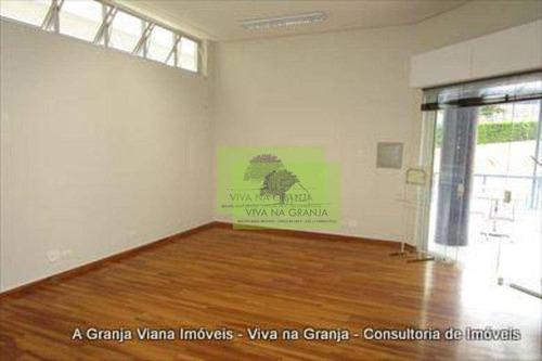 Imagem 1 de 28 de Loja Para Alugar, 33 M² Por R$ 1.419,18/mês - Granja Viana - Cotia/sp - Lo0048