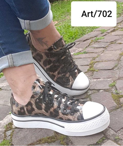Zapatillas Plataforma Animal