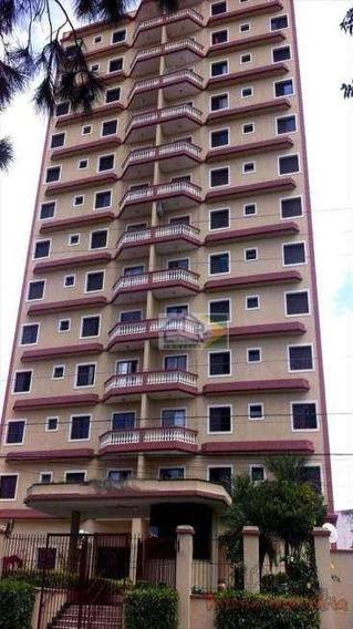 Apartamento Com 3 Dormitórios Para Alugar, 122 M² Por R$ 1.600/mês - Centro - Suzano/sp - Ap0173
