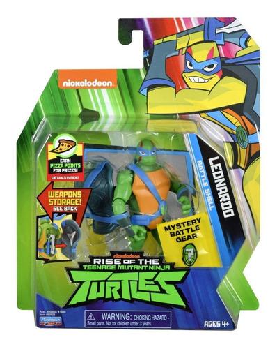 Imagem 1 de 6 de Tartarugas Ninja - Figuras De Ação - Leonardo Porta Armas
