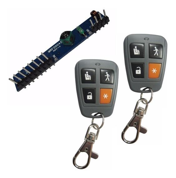 Kit P/ Hacer Inalambrica Tu Alarma X28 Receptor 2 Controles