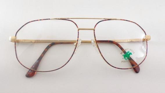 Óculos Sol Retrô, Metal, #aviador Polo Club Ev-fl07av