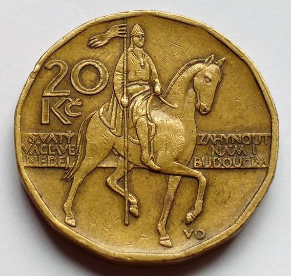 Moneda De República Checa, 20 Korun 2004.