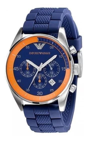 Reloj Emporio Armani Ar5864 Sportivo Nautical Chronograph