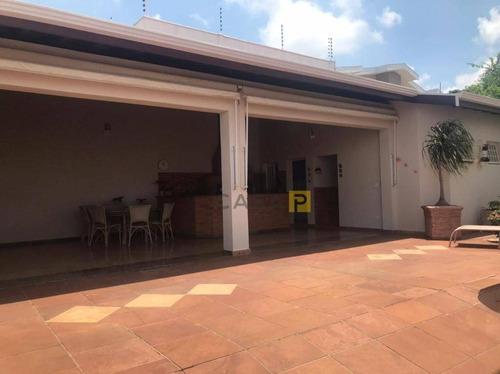 Casa Com 4 Dormitórios À Venda, 362 M² Por R$ 1.050.000,00 - Centro - Santa Bárbara D'oeste/sp - Ca1014
