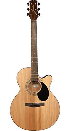 Imagen 1 de 5 de Guitarra Acustica Jasmine S34c Nex