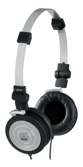 Headphone Akg Harman K414 Fone Ouvido Original + Bolsa