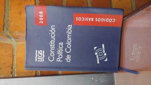 Constitución Politica De Colombia 2008 Legis