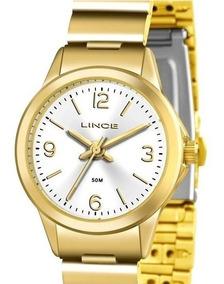 Relógio Lince Feminino Folhado Pequeno Lrg4434l S2kx