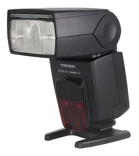 Flash Yongnuo Yn-568ex Iii - Para Nikon + Nota Fiscal