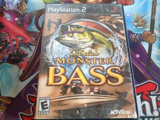 Cabelas Monster Bass. Ps2