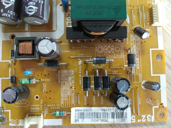 Placa Fonte Tv Samsung Model,un32eh5000g/type: Un32eh5000
