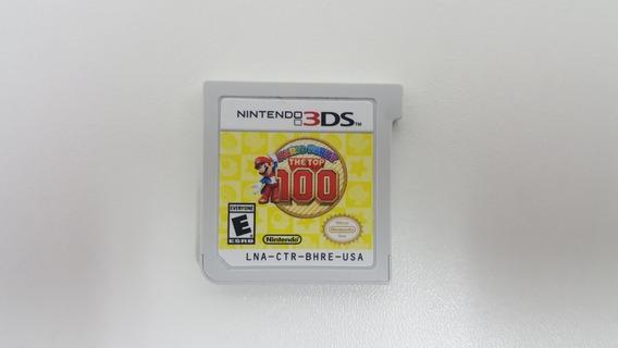Mario Party The Top 100 - Nintendo 3ds - Original - Sem Capa