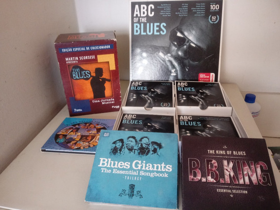 Blues - Abc Of The Blues - Melhor Coleção Ja Lançada