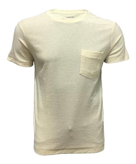 Camiseta Osklen Light Texture Pocket
