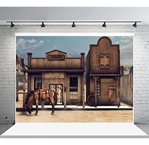 Aofoto 10x8ft Vintage Turkey Farm Backdrop Antigua Casa De M