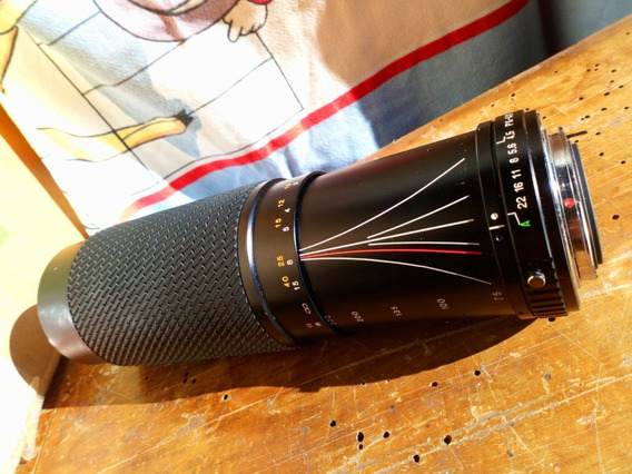 Fretegráts Lente Analógica Tokina 73 - 300mm 1:4 5-5,6 Japan