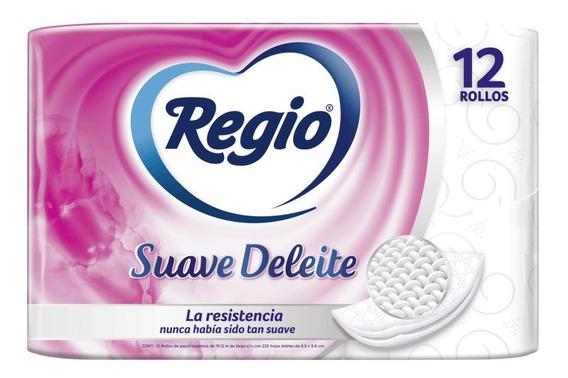 Papel Higiénico Regio Suave Deleite 12 Rollos