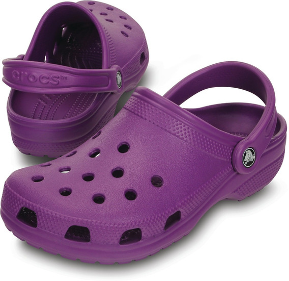 Crocs Originales Classic Adulto Neon Purple