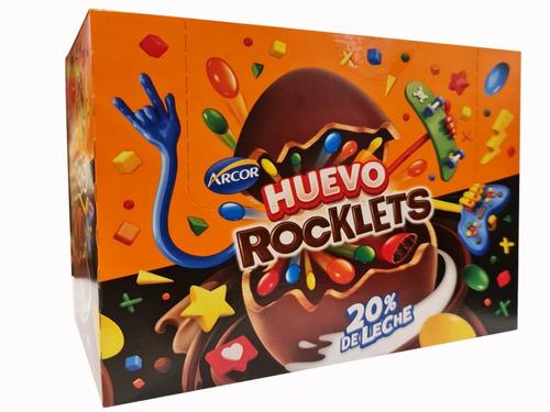 Huevo Rocklets 28gr -  Caja X 12un - Barata La Golosinería