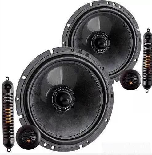 Alto Falante Bravox Cs60b 6 Kit Duas Vias 65 Watts Rms 4 Oh