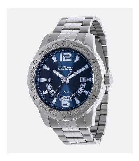 Relógio Condor Masculino Pulseira Aço Co2415bm/3a Original