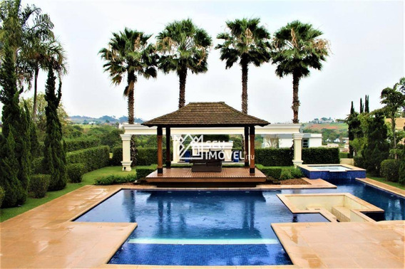 Casa Com 5 Dormitórios À Venda, 600 M² Por R$ 3.950.000,00 - Condomínio Fazenda Alvorada - Porto Feliz/sp - Ca1837