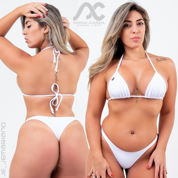 Conjunto Fio Dental Bikinis Anna Carol Asa Delta Sexy Bac-2