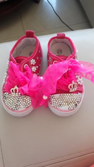 Zapatos Deportivos De Niña 20