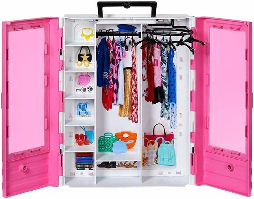 Barbie Closet Fashionistas De Lujo