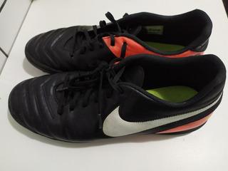 Chuteira Nike Society Tiempox Rio 3 Tf 8660 Seminova