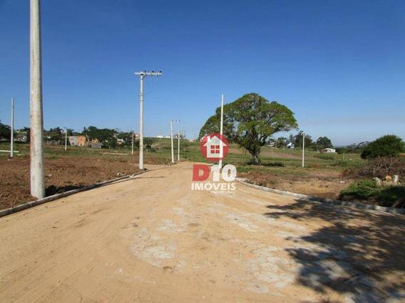 Terreno Na Içara Com Entrada + Reforço + Parcelas De R$ 606,93 Reais - Te0324
