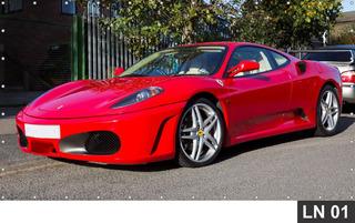 Ferrari Carro Painel 4,00x1,78 Lona Festa Aniversário Banner