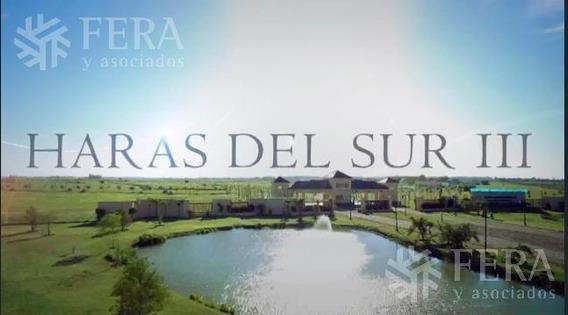 Venta De Lote En Haras Del Sur (barrios Las Araucarias) (26128)