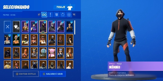Fortnite Skins Raras Wonder E Ikonik