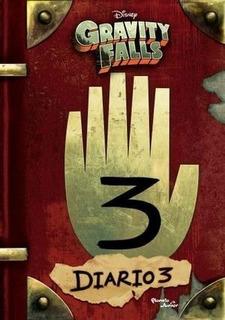 Gravity Falls . Diario 3 Pasta Dura